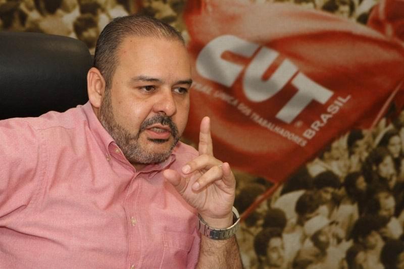 Presidente de la Central Única de los Trabajadores (CUT) Vagner Freitas