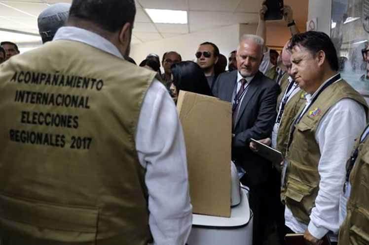 Comienza en Venezuela el Programa de Acompañamiento para las elecciones municipales