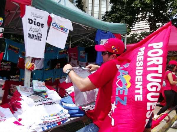 Venezuela está con Chávez en este cierre de campaña electoral