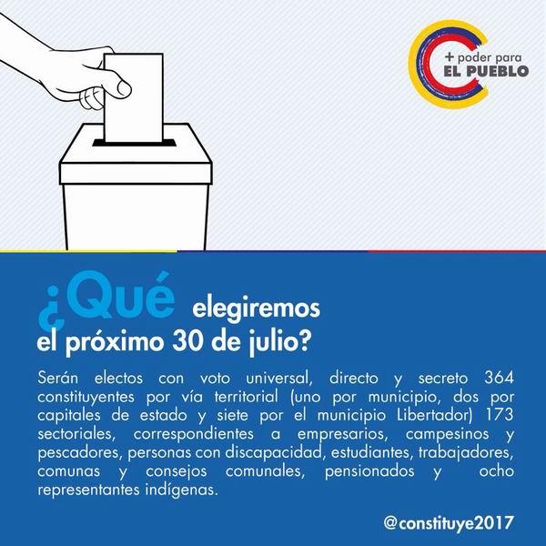 Pueblo venezolano apoya inicio de campaña para la Asamblea Nacional Constituyente