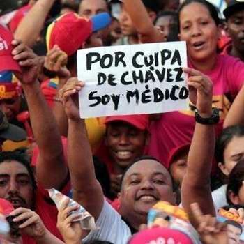 """""""Por culpa"""" de Chávez, Venezuela es independiente y su pueblo construye el camino escogido hace más de quince años"""