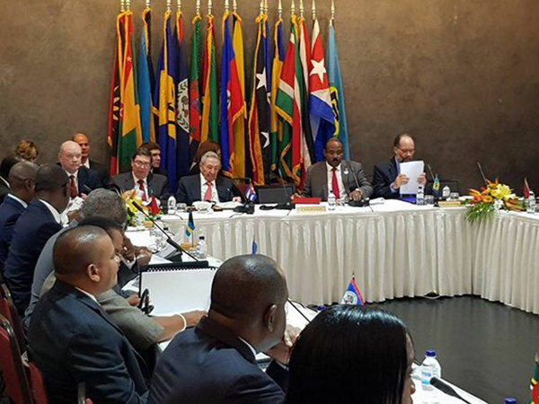Cuba ratifies support for Caricom in its claims