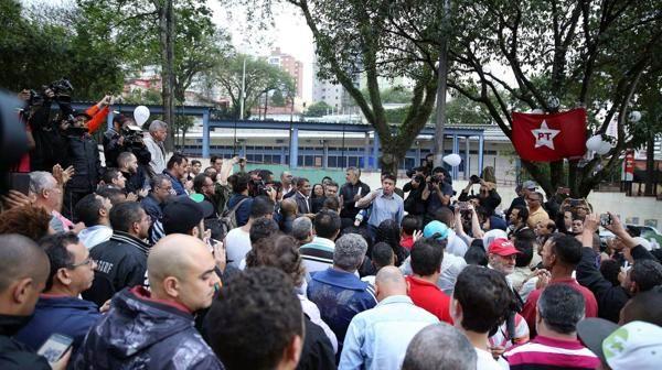 Vigilias ante rumores de posible arresto de Lula