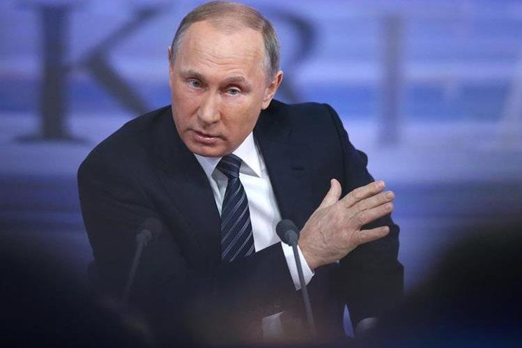 Acusa Putin a EE.UU. por desestabilizar el sistema de seguridad global