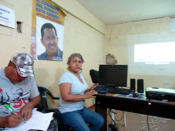 Chávez es eterno, trascendió lo humano y está en cada acto nuestro como venezolanos amantes de la revolución, de la justicia y la equidad, afirma Yamira Acosta. Foto: Ana Teresa Badía