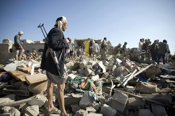 M�s bombardeos en Yemen