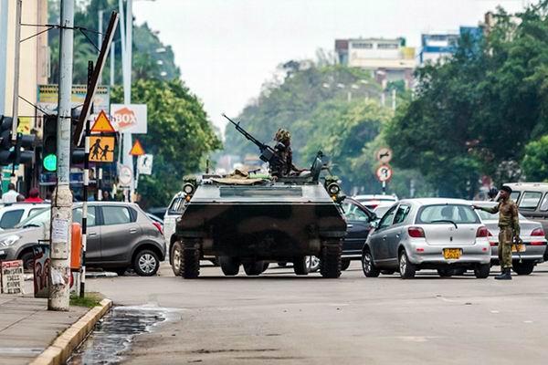 Tensión en Zimbabwe