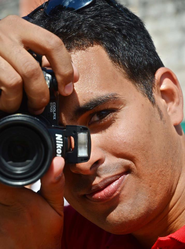 Abel Rojas Barallobre, Fotoreportero de Prensa