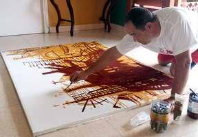 Alberto Pujol incursiona en las artes plásticas