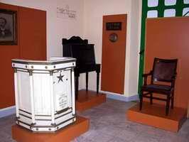 Sala dedicada a José Martí  en el Museo Oscar María de Rojas
