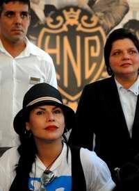 Olga Tañón en el Hotel Nacional de Cuba