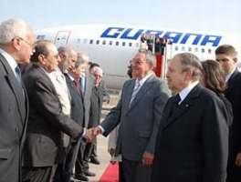 Llegó Raúl a Argelia