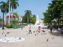 Parque José Martí en Cienfuegos